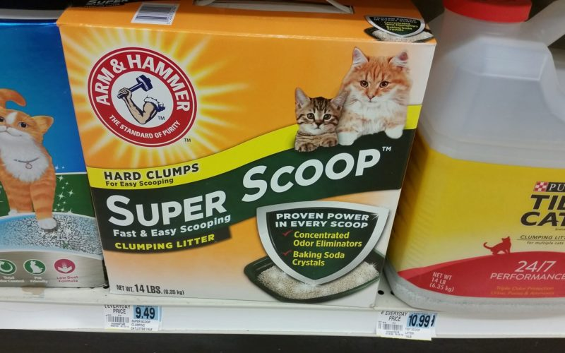 Stock Up Price on Arm & Hammer Cat Litter at Rite Aid 06/17 ~ 06/23!!