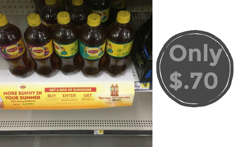 Lipton Iced Tea Only $.70!