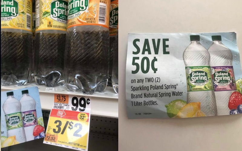 Poland Spring Sparkling Water Only $.17!