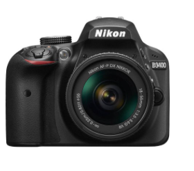 RUN!!  Nikon D3400 Digital SLR Camera $169