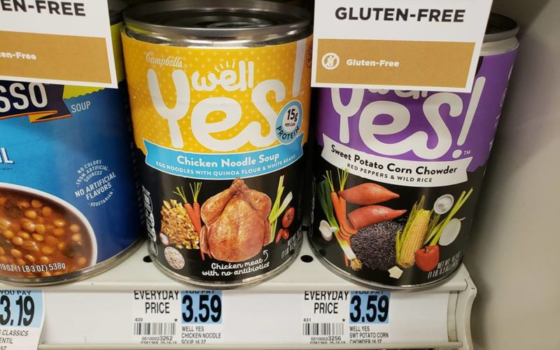 Well Yes Soup ONLY 50¢ at Rite Aid 06/17 ~ 06/23!!