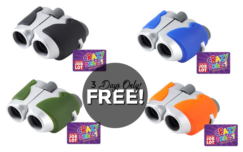 Nature Lovers.. F-R-E-E Binoculars!!!! (6/4-6/6 only)