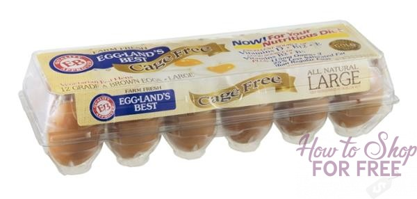Egglands Best Cage Free Eggs for $1! Stock up!