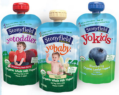 Stonyfield Organic Single Serve Pouches Deal!
