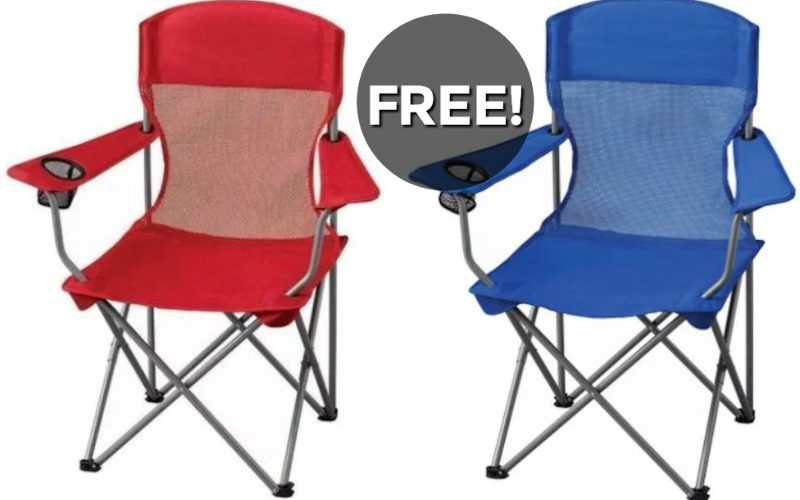 F-R-E-E Camping Chair~ Grab before the season ends!