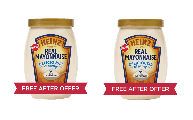 F R E E Heinz Real Mayo~ Pick Your Store!!