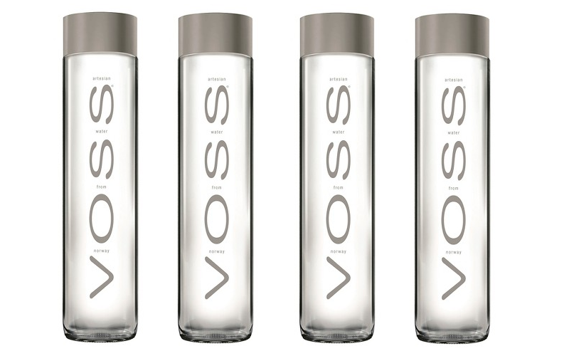 Voss water for only a nickel.