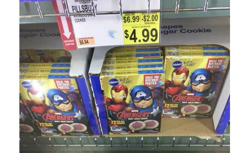Pillsbury Cookies 72 count Only $4.99!