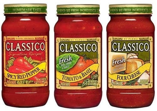 Classico Pasta Sauce UNDER a Buck at Shaw's 07/20 ~ 07/26!!