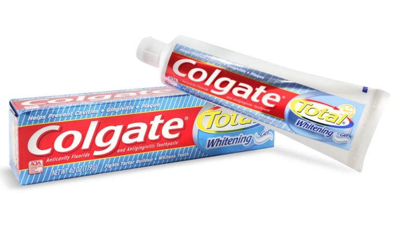 Colgate Total for CHANGE!!!