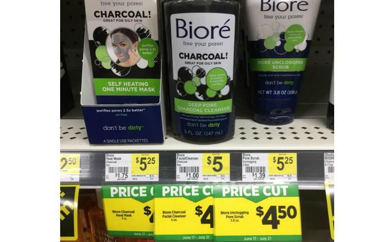 Biore Products Only $3