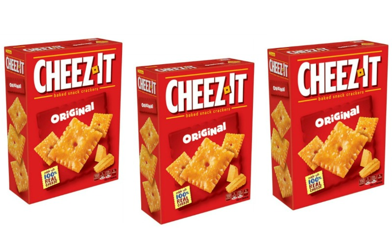 Cheez It Crackers Only $.40!