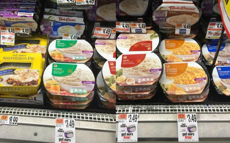 Bob Evans & Stop & Shop Side Dishes Only $1.75!