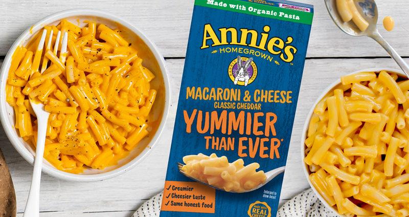 Get a FREE Box Of Annie's Mac & Cheese!