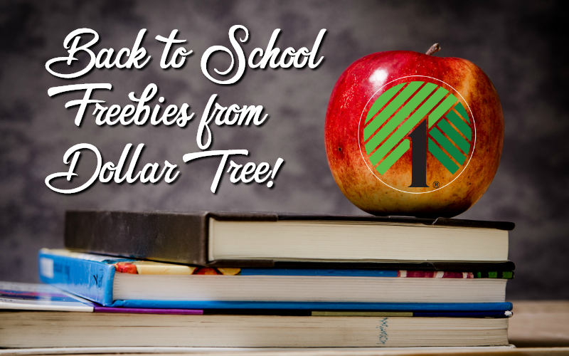 Back-to-School #FREEBIES from Dollar Tree!