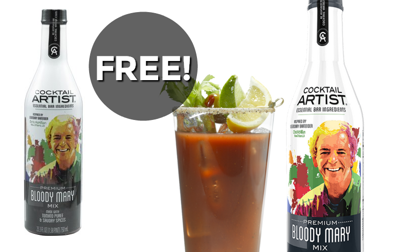 #FREE Bloody Mary Mix! HURRY~ Expires 8/1