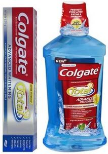 Colgate Total Toothpaste and Mouthwash for CHANGE!