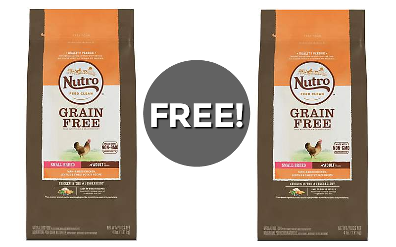 F R E E bag of Nutro Dog Food!!!!! ($23 Value!)