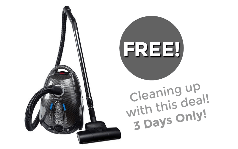 #FREE Vacuum… This is NOT a Drill!!! (3-Day Deal!)