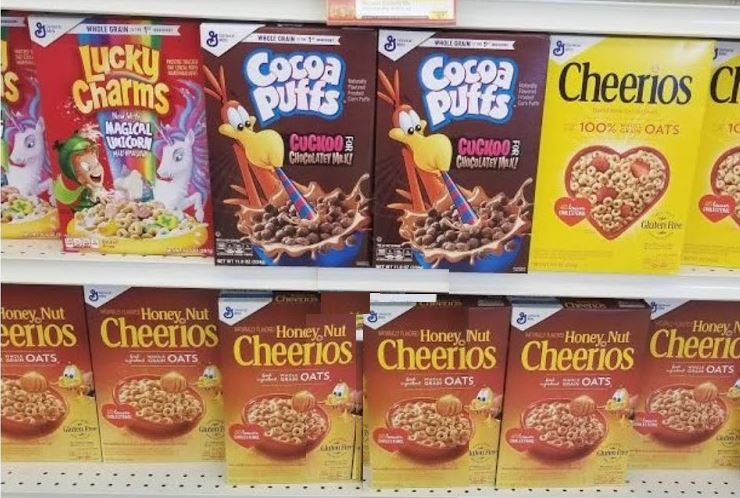 GM cereal for $.74!!!
