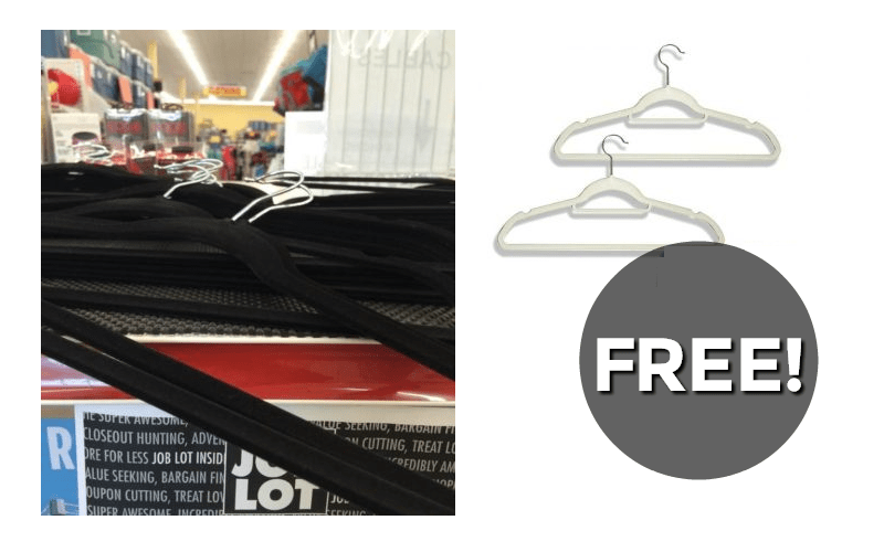F-R-E-E Hangers (for all those new Back to School clothes!!)