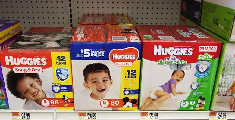 Huggies Diapers as low as $.09 a Diaper!