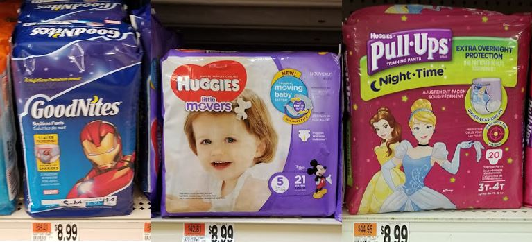 Great Deal on Huggies Diapers, Pull Ups or Goodnites