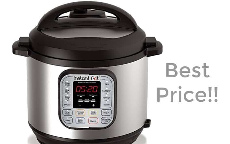 $59 Instant Pot for Prime Day (Retail/$100!)