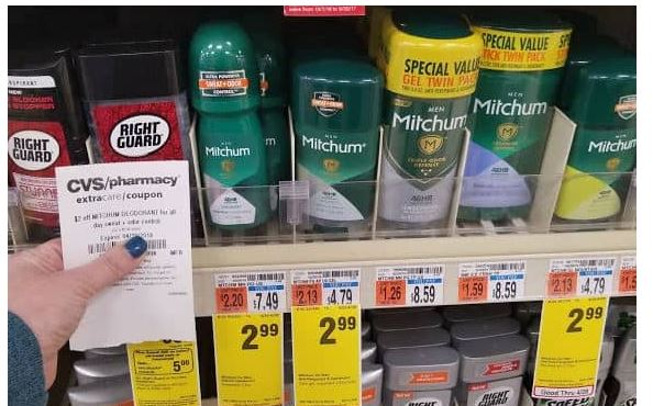 image about Mitchum Printable Coupon referred to as Absolutely free + Opportunity MM upon Mitchum Deodorant at CVS! How in the direction of