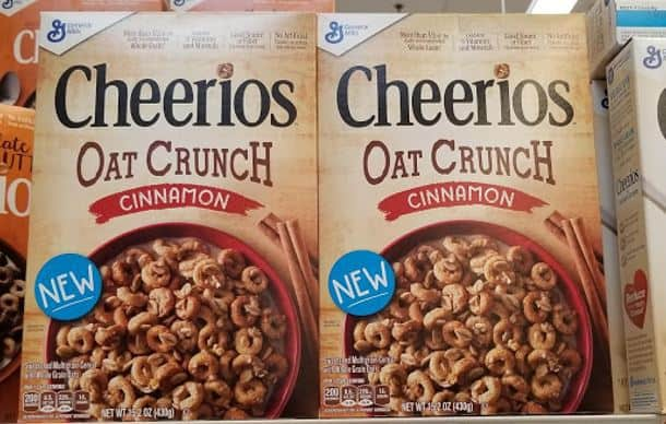 5 FREE Boxes of Cheerios Oat Crunch!