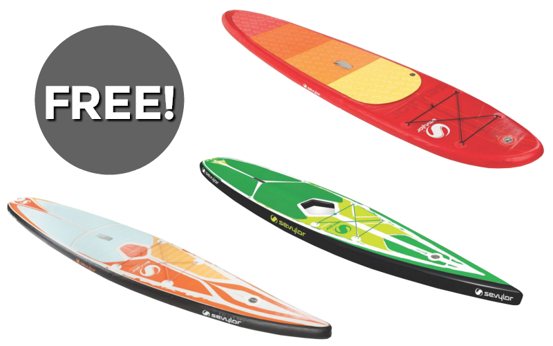 Paddleboards for F-R-E-E!! (3 Day Deal!)