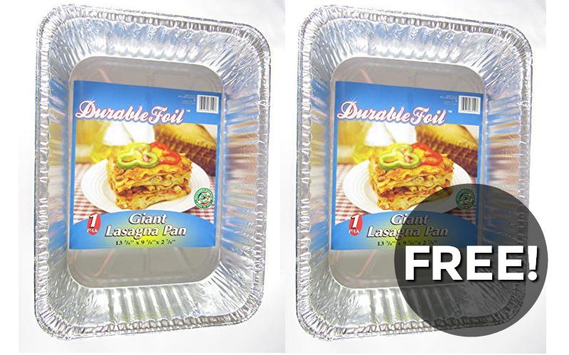 F-R-E-E Disposable Pans~ Stock up for holidays!