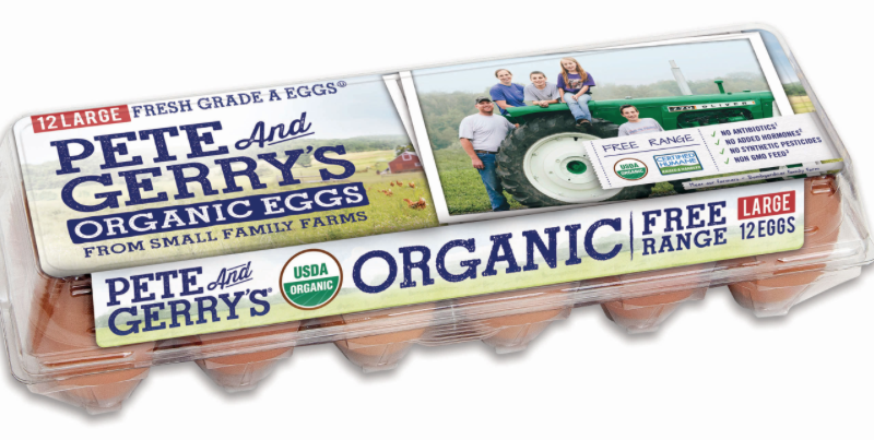 $2.49 Pete and Gerry's Organic eggs! (reg. $5.99)