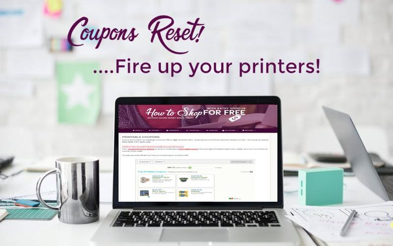 Run and Start Your Printers ~ It's Time for Mid-Month Resets!!