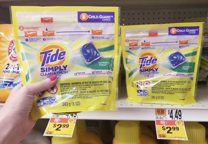 Pick up Tide Simply for a GREAT Price!