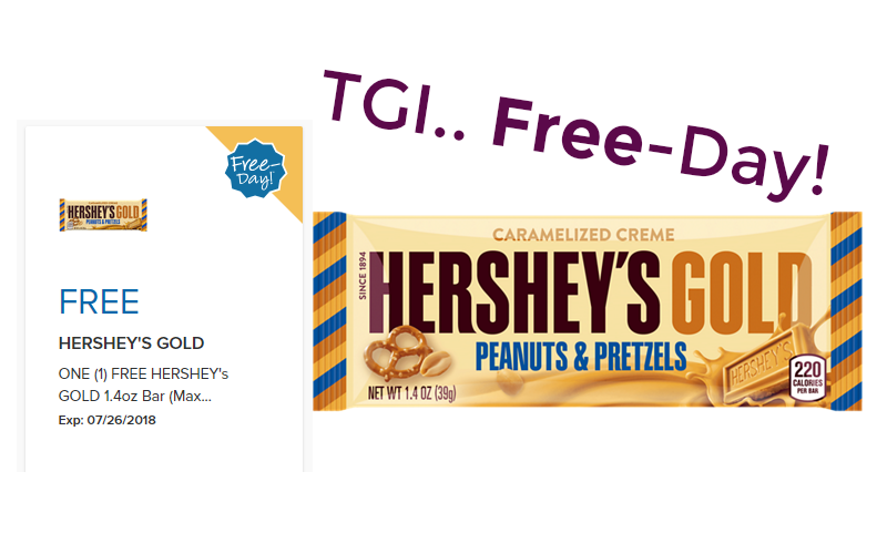 TGI… Free-Day!! Sweet Treat!