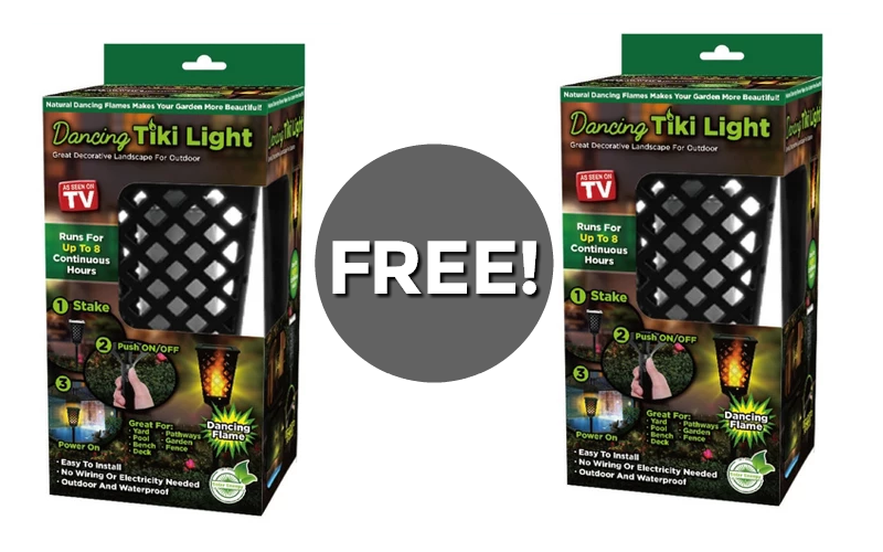 F R E E Dancing Tiki Light~ As Seen on TV!!