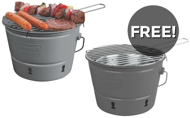 FREE Coleman Bucket Stove! (1 Week Only)