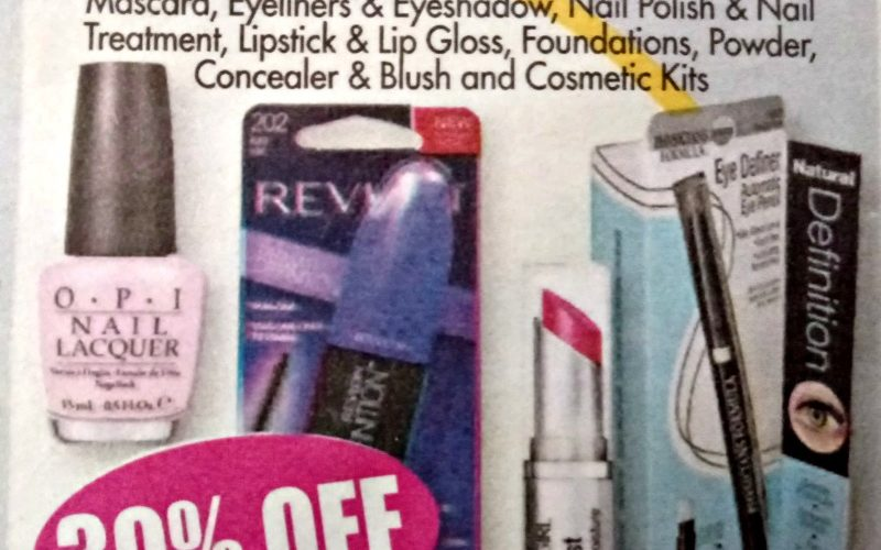 ALL Makeup 30% OFF at OSJL + Coupons You'll Need!!