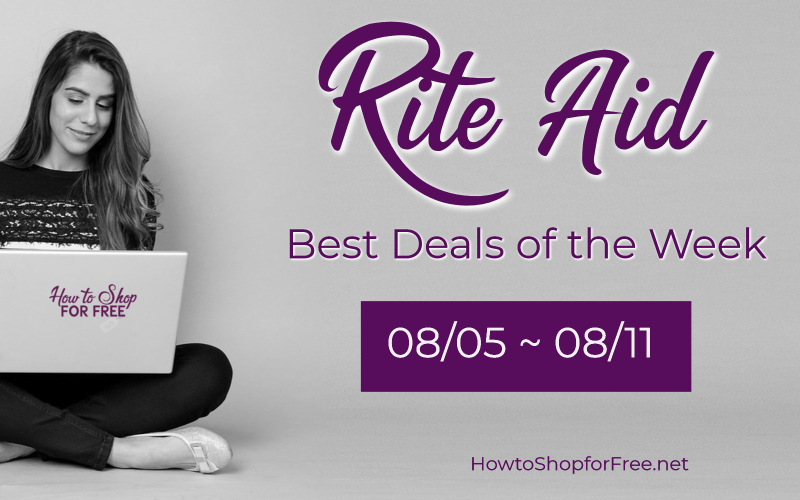 Best Deals of the Week at Rite Aid Starting Sunday 08/05!!