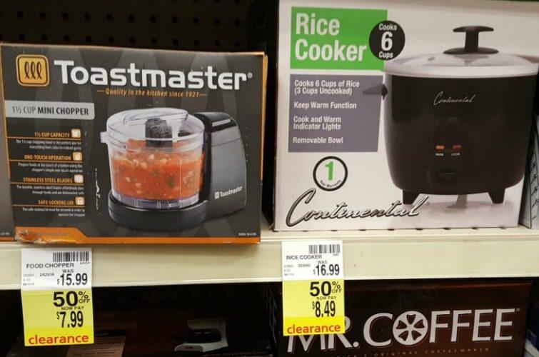 50% Off Kitchen Appliances at CVS!