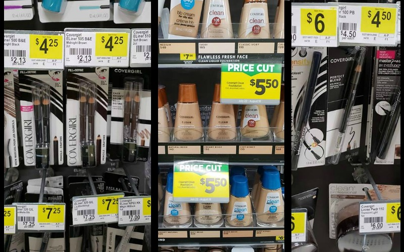 Great Prices On Covergirl Products! As Low as $1.25!