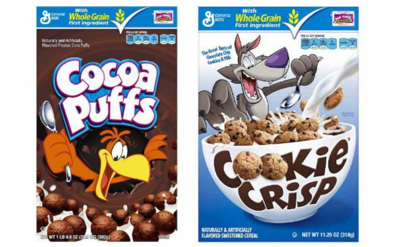 Cookie Crisp or Cocoa Puffs Cereal Only $1.25!
