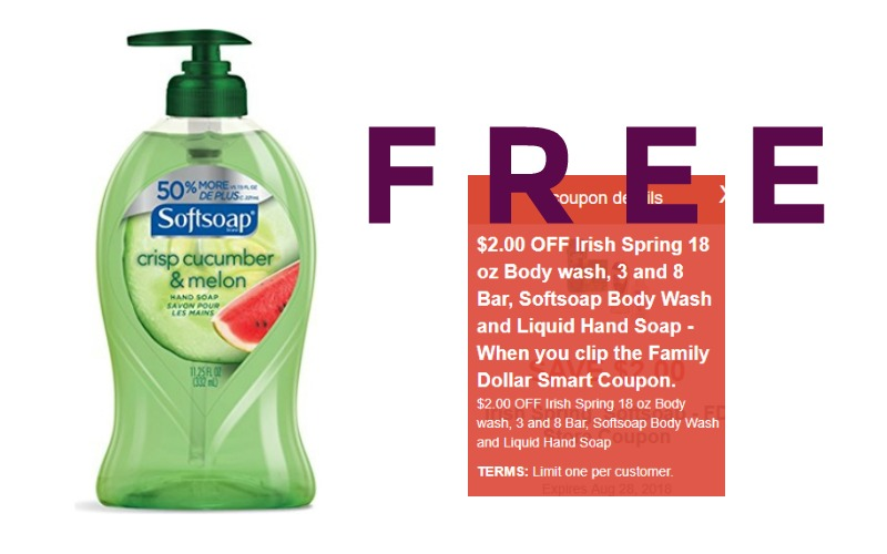 F-R-E-E Softsoap Liquid Hand Soap!