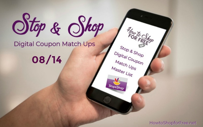 **2** NEW Load to Card Offers with Match Ups at Stop & Shop 08/14!!