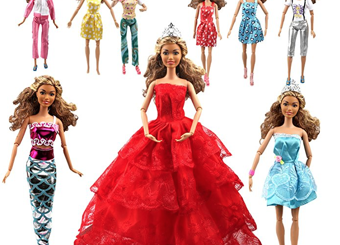 110 Barbie Clothes and Accesories. $6.30