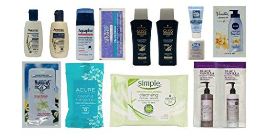 FREE Skin and Hair Products from Amazon