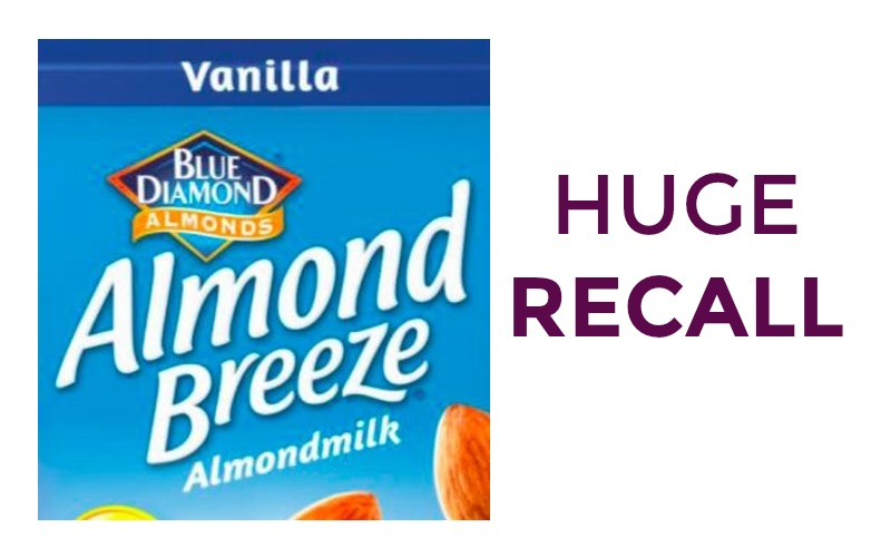Hood Recalls Over 145K Cartons of Almond Breeze for Possibly Containing Milk