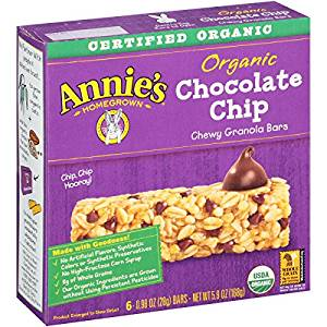 Annie's Organic Granola Bars under a buck!!!