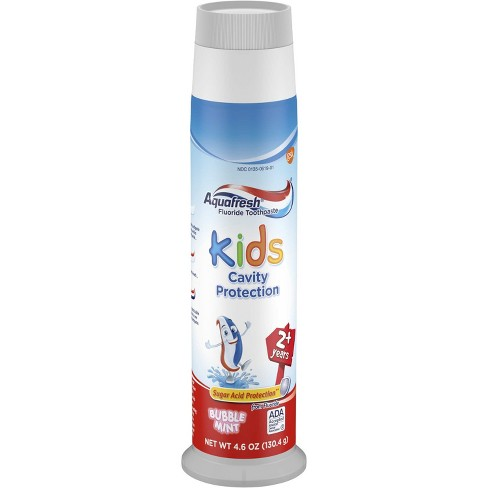 Aquafresh Kids toothpaste for CHANGE!
